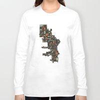 milwaukee Long Sleeve T-shirts featuring Milwaukee by BigRedSharks
