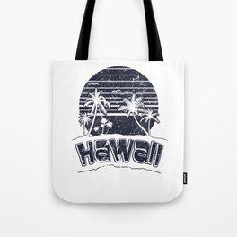 Hawaii Sunset Beach Vacation Paradise Island Black Tote Bag