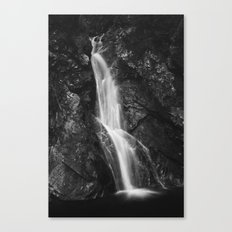 Waterfall in Hell Gorge, Slovenia Canvas Print