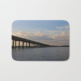 Under the Caloosahatchee Bridge Bath Mat