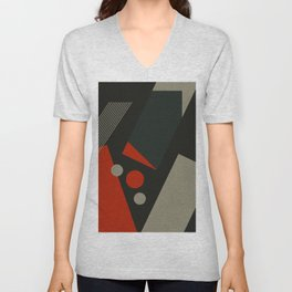 Just abstract Unisex V-Neck