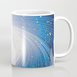 Stars, Light and Motion in space Coffee Mug