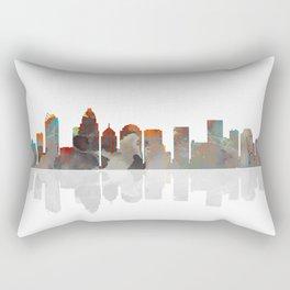 Charlotte Skyline BW1 Rectangular Pillow