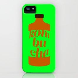 Kombucha iPhone Case