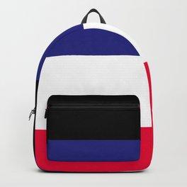Leather Pride Flag Backpack