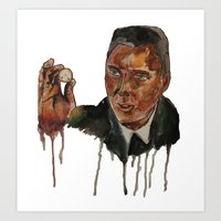 Christopher Walken as Captain Koons Art Print