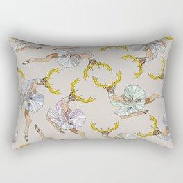 Dancing Reindeers Rectangular Pillow