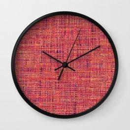 WEAVE Wall Clock