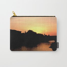 Sunset over the Ponte Vecchio Carry-All Pouch