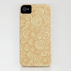 Spirals Slim Case iPhone (4, 4s)