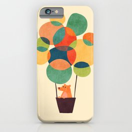 Whimsical Hot Air Balloon iPhone Case