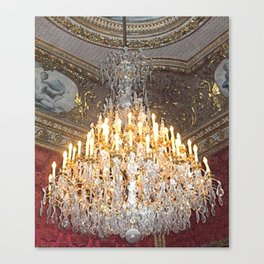 Crystal Elegance Canvas Print
