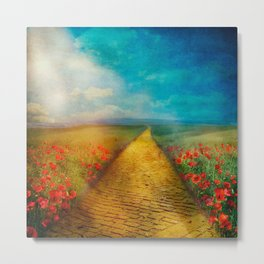 My Yellow Brick Road Metal Print