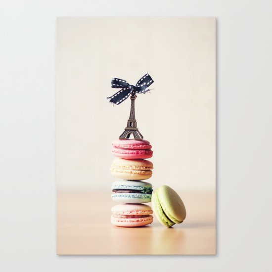 Macarrons Canvas Print