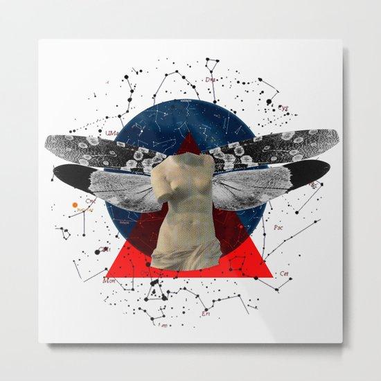 Wonder Wood Dream Mountains - The Demon Cleaner Series · The Lost Ghost Metal Print