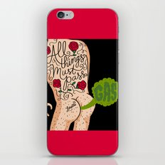 All Things Must Pass (gas) iPhone & iPod Skin