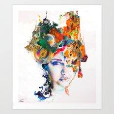 Untouched Presence Art Print