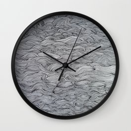 Waves all over 2nd Wall Clock