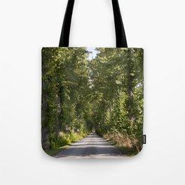 Down the road Tote Bag