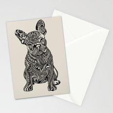 Polynesian  Frenchie Stationery Cards