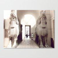 giants Canvas Prints featuring giants by jenny mckinnon