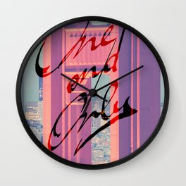 One and Only - San Francisco - Wall Clock