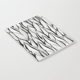 Abstract Leaves Notebook