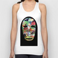 spirited away Tank Tops featuring No Face by Ilse S