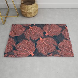 Fan living coral Rug