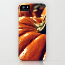 Shiny Pumpkins iPhone Case
