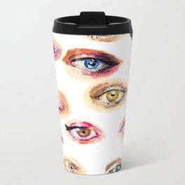 Eyes Eyes Metal Travel Mug