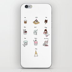 Parks and Rec Ice Cream iPhone & iPod Skin