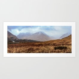 Glen Coe Scotland Art Print