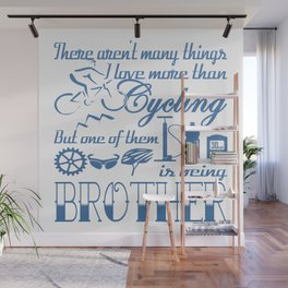 Cycling Brother Wall Mural