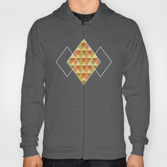 Triangle Diamond Grid Hoody