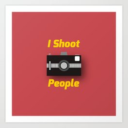 Photographer's Wordplay Art Print