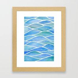 Lake Surface Framed Art Print