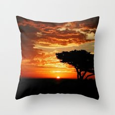 Firey Dragon  Throw Pillow