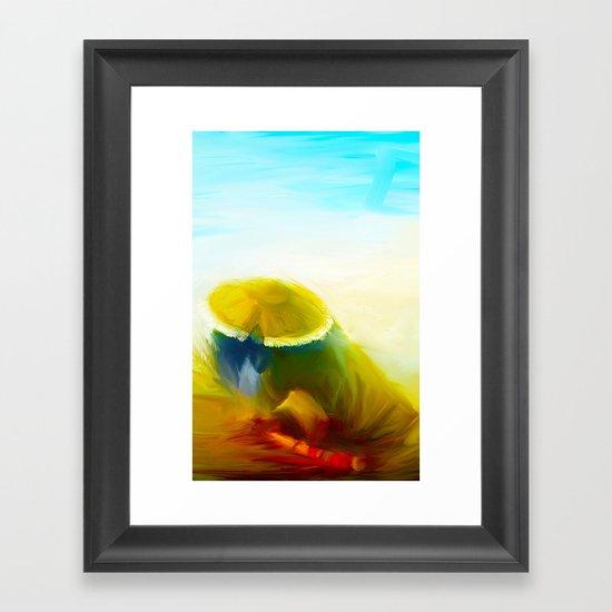 Pandaren Framed Art Print