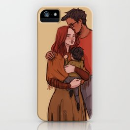 Jily family iPhone Case