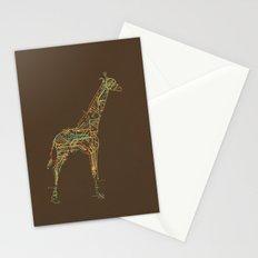 Electric Giraffe Stationery Cards