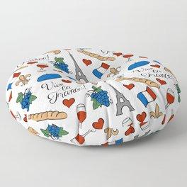 Vive la France! Floor Pillow