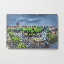 Chhatrapati Shivaji Terminus 1 Metal Print