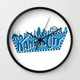 Downtown KC Wall Clock
