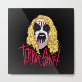 Terror Swift Metal Print