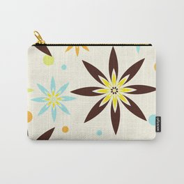 70s flowers Carry-All Pouch
