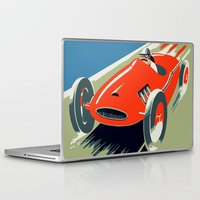 grand theft auto Laptop & iPad Skins featuring Retro style auto Grand Prix Rivièra by aapshop