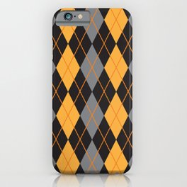 Argyle For Halloween iPhone Case