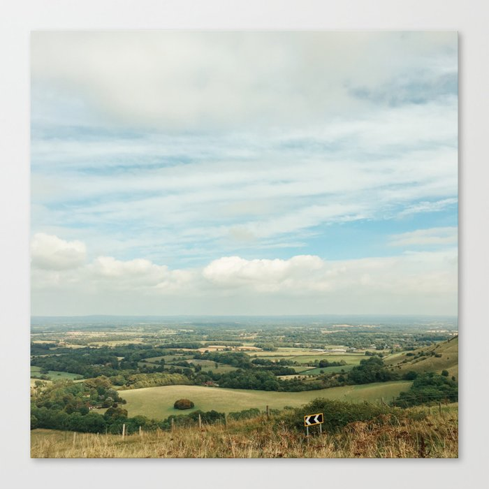 I Can See For Miles Canvas Print