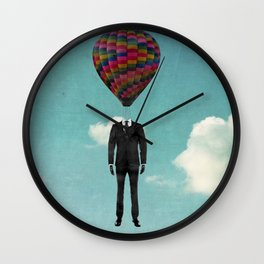 balloon man Wall Clock
